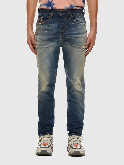 Diesel - D-Vider 009FR, Medium blue - Jeans - Image 1