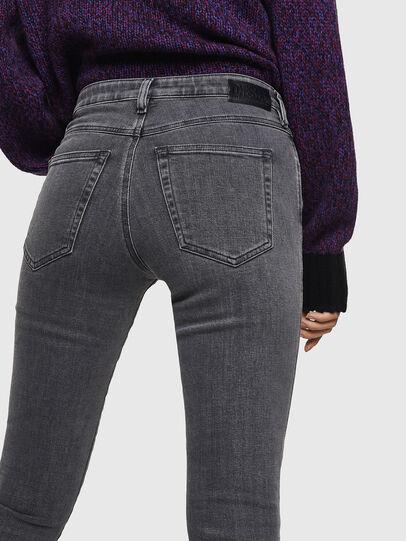 Diesel - Babhila 0890S, Light Grey - Jeans - Image 5