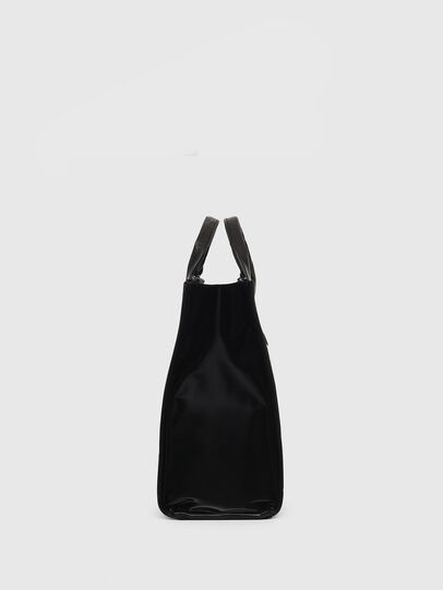 Diesel - HAUNYA, Black - Shopping and Shoulder Bags - Image 3