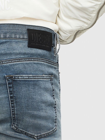 Diesel - D-Reeft JoggJeans 069LT, Dark Blue - Jeans - Image 5