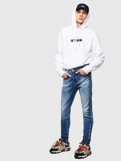 Diesel - D-Istort 009CJ, Medium blue - Jeans - Image 6