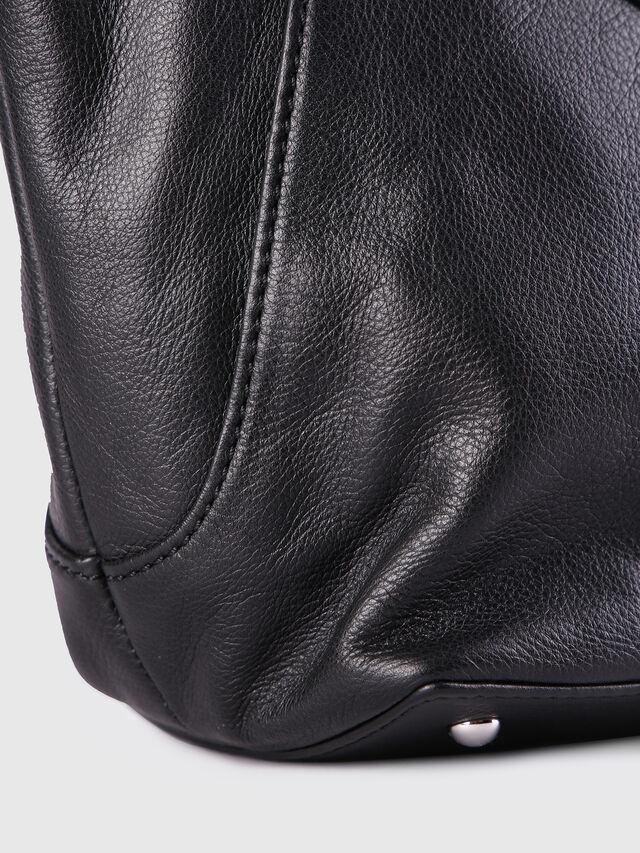 Diesel - LE-NINNA, Black - Shopping and Shoulder Bags - Image 5