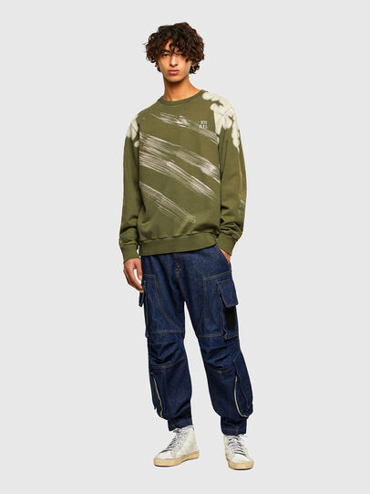 Diesel - S-GIRK-A62, Military Green - Sweaters - Image 5