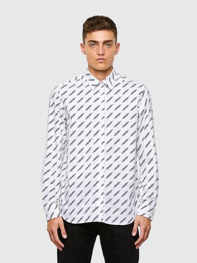 Diesel - S-RILEY-FLA, White - Shirts - Image 1