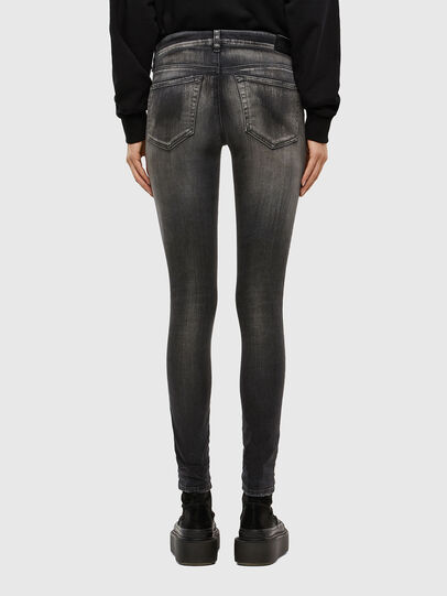 Diesel - Slandy 069QR, Black/Dark grey - Jeans - Image 2