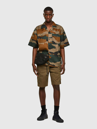 Diesel - P-APE, Military Green - Shorts - Image 5