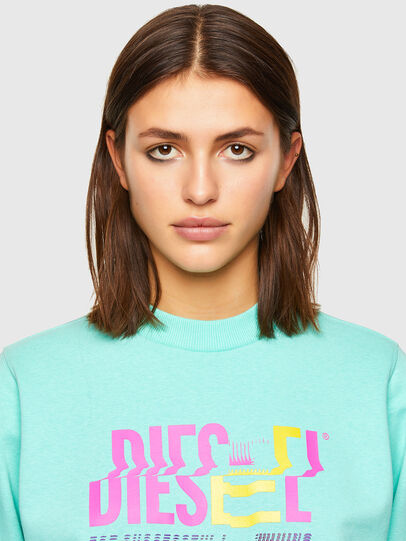 Diesel - F-ANG-K14, Light Blue - Sweaters - Image 3