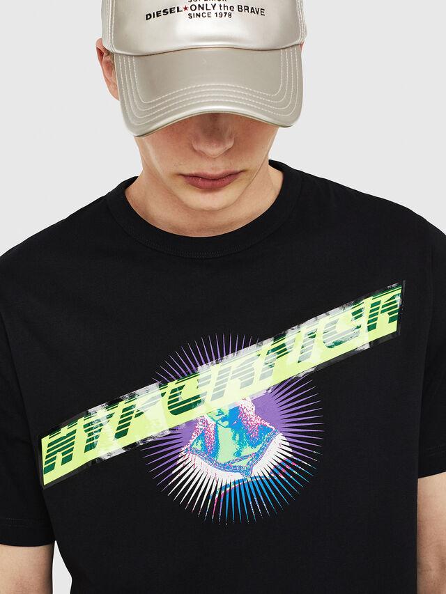 Diesel - T-YORI, Black - T-Shirts - Image 3