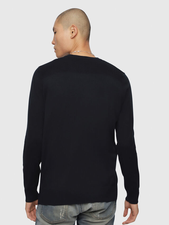 Diesel - K-AROUD, Dark Blue - Knitwear - Image 2