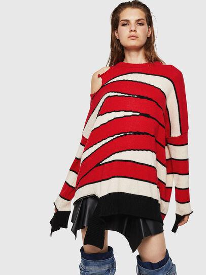 Diesel - M-PAPERY, Red - Knitwear - Image 1