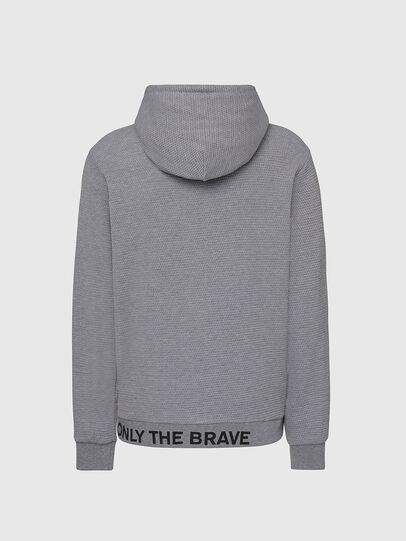 Diesel - S-ELECTRUM, Light Grey - Sweaters - Image 2