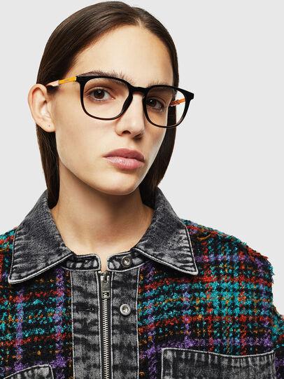 Diesel - DL5349, Black/Yellow - Eyeglasses - Image 6