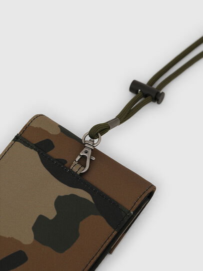 Diesel - HIRESH FD, Green Camouflage - Small Wallets - Image 4