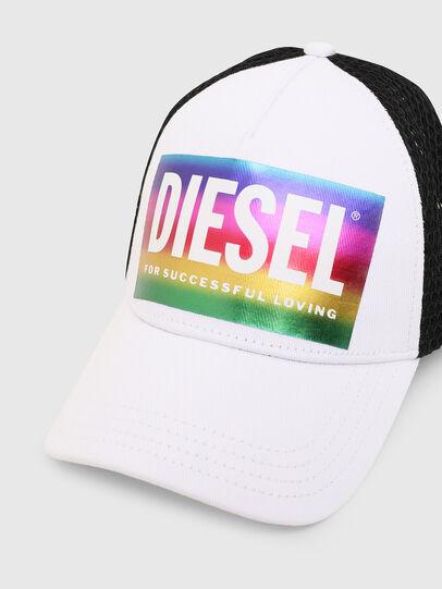 Diesel - CAKERYM-MAX-PR, White - Beachwear accessories - Image 3