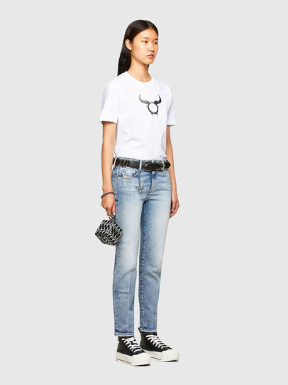 Diesel - CL-T-DIEGOS-O2, White - T-Shirts - Image 8