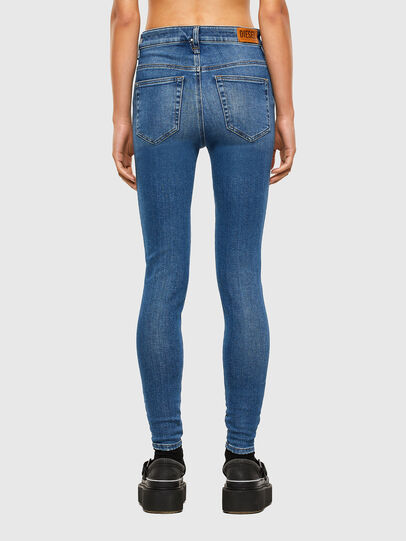 Diesel - Slandy High 009AG, Medium blue - Jeans - Image 2