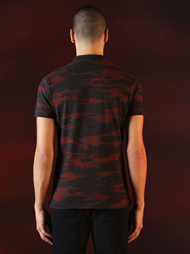 DVL-POLO-SPECIAL COLLECTION, Red/Black