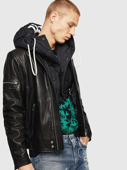 Diesel - L-TOVMAS,  - Leather jackets - Image 8
