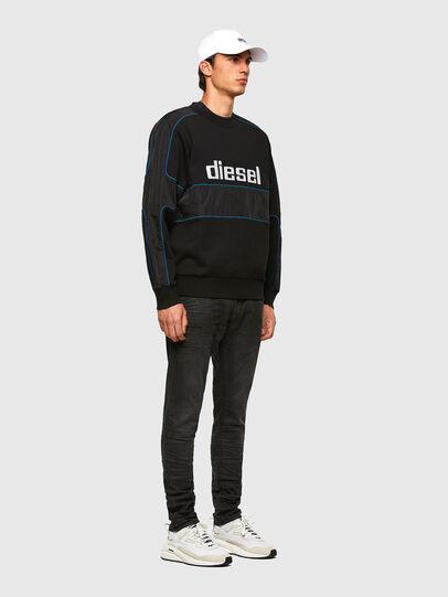 Diesel - S-LAIN, Black - Sweaters - Image 5