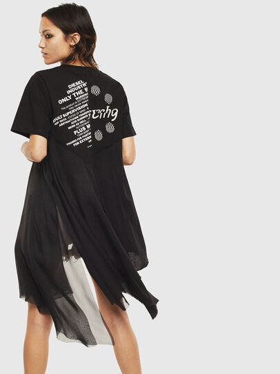 Diesel - T-SETH, Black - T-Shirts - Image 2