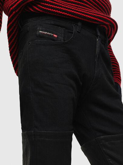 Diesel - D-Strukt 0091W, Black/Dark grey - Jeans - Image 4