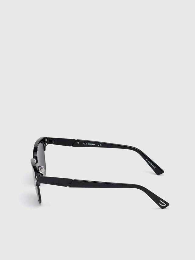 Diesel - DL0235, Black - Sunglasses - Image 3