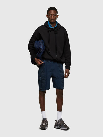Diesel - D-PRONE-SP JOGGJEANS, Dark Blue - Shorts - Image 5