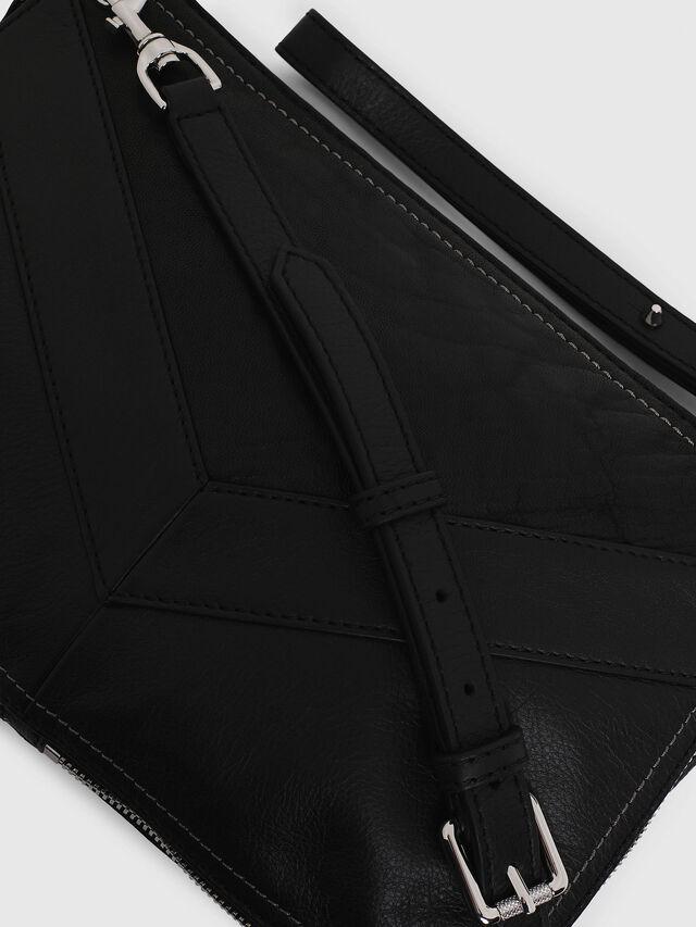 Diesel LE-LITTSYY, Black Leather - Clutches - Image 5