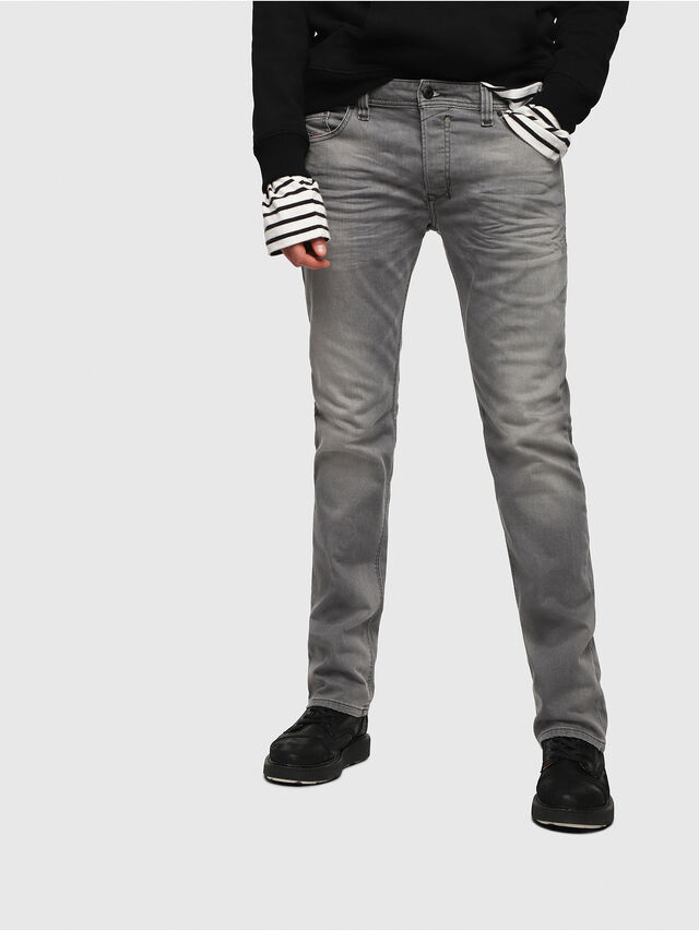 Diesel - Safado C84HP, Light Grey - Jeans - Image 1