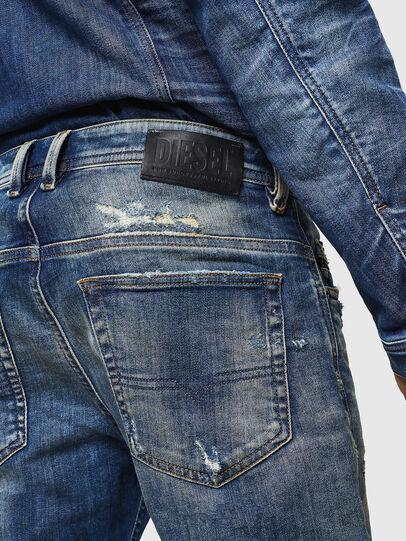 Diesel - Thommer JoggJeans 0870Q, Medium blue - Jeans - Image 5
