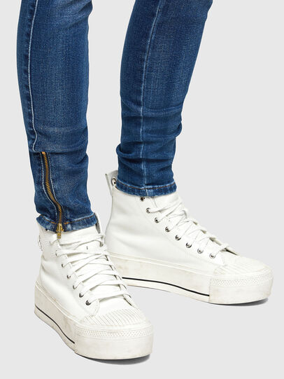 Diesel - Slandy Low 009PU, Medium blue - Jeans - Image 4