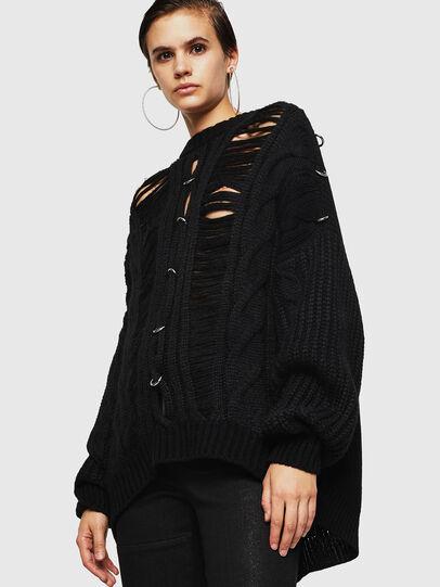 Diesel - MEBLY, Black - Knitwear - Image 1