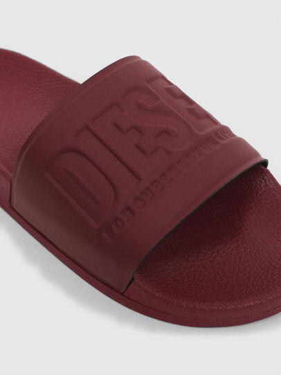 Diesel - SA-VALLA, Bordeaux - Slippers - Image 6
