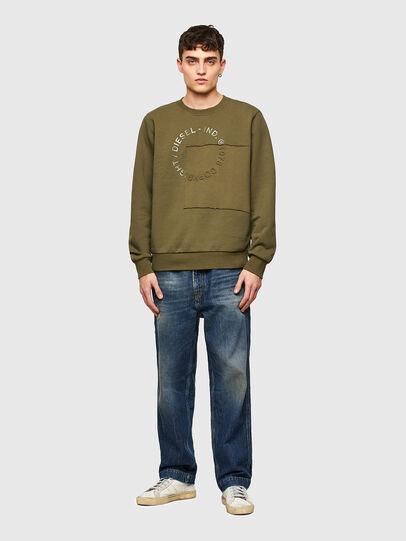 Diesel - S-GIRKEMB, Military Green - Sweaters - Image 4
