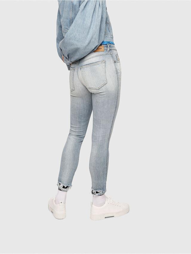Diesel - Babhila 081AJ, Light Blue - Jeans - Image 2