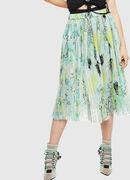 O-PLIZ, Water Green - Skirts