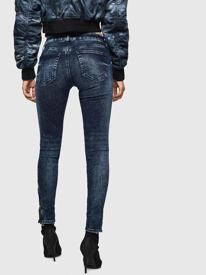 Diesel - Slandy Zip 069GW, Dark Blue - Jeans - Image 2