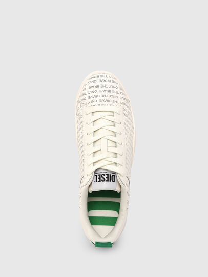 Diesel - S-CLEVER LOW LACE, White/Green - Sneakers - Image 6