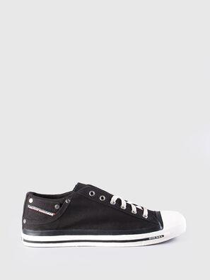 EXPOSURE LOW, Black - Sneakers