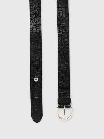 Diesel - B-CRICO, Black - Belts - Image 3