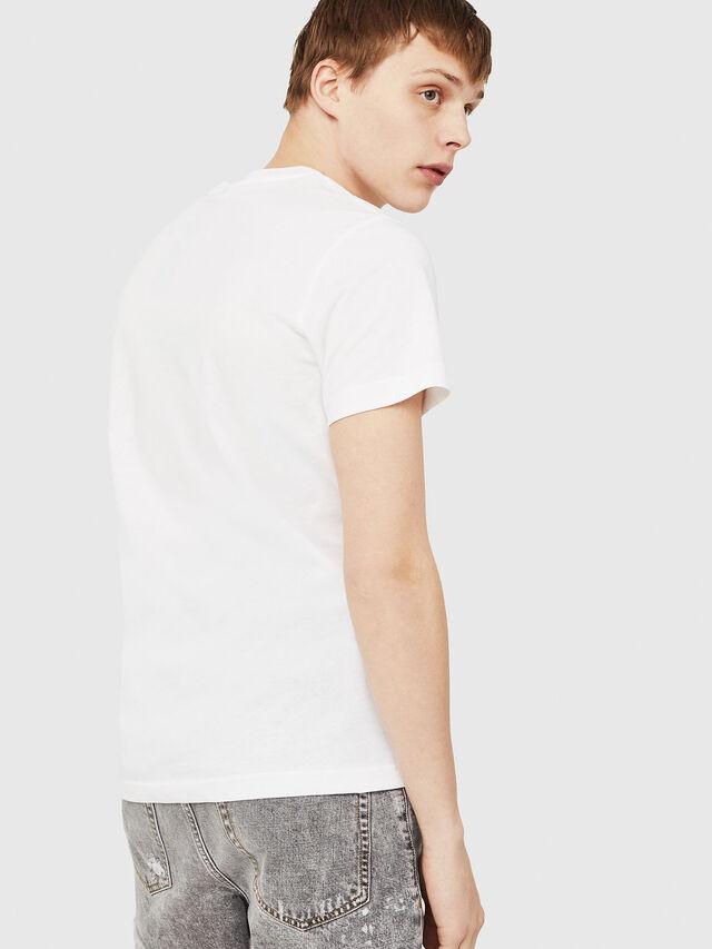 Diesel - T-DIEGO-C3, White - T-Shirts - Image 2