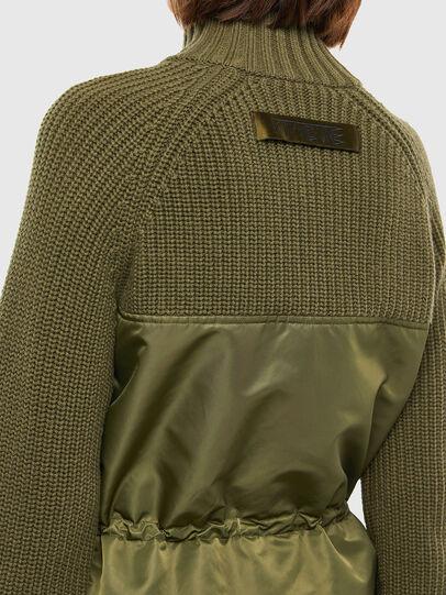 Diesel - M-EKA, Military Green - Knitwear - Image 5