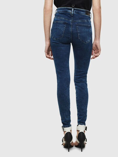 Diesel - Slandy High 0094Z, Dark Blue - Jeans - Image 2