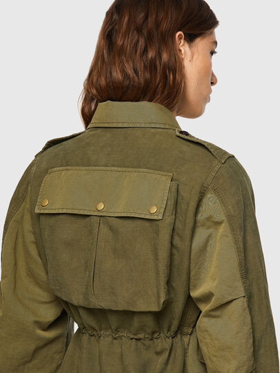 Diesel - G-CLAUDIA, Military Green - Jackets - Image 3