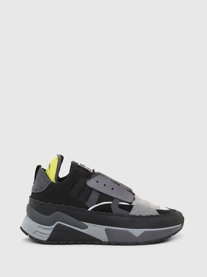 Diesel - S-BRENTHA DEC, Black/Grey - Sneakers - Image 1