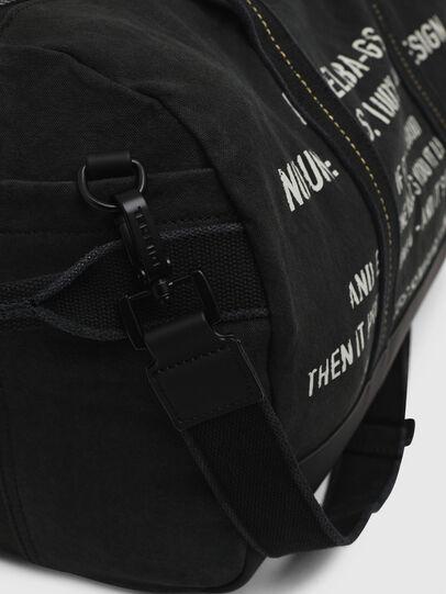 Diesel - D-THISBAG TRAVEL BAG, Black - Travel Bags - Image 5