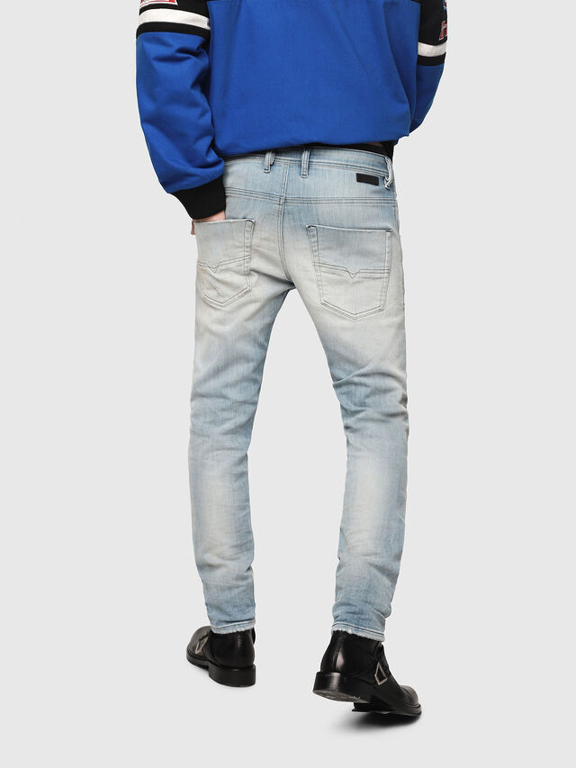 Diesel - Krooley JoggJeans 087AB, Light Blue - Jeans - Image 2