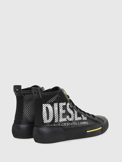Diesel - S-DESE MID CUT, Black/Yellow - Sneakers - Image 3