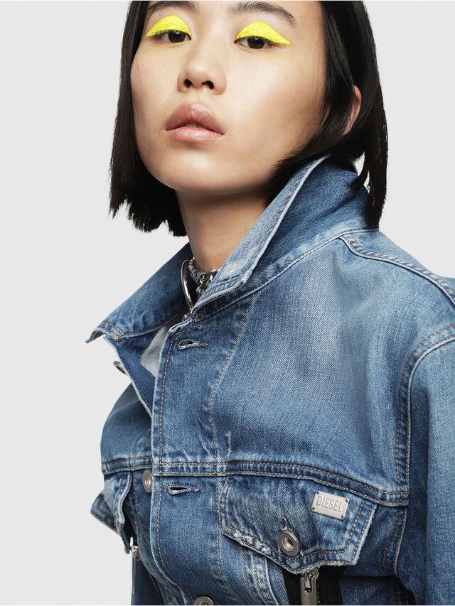 Diesel - DE-LILAC, Blue Jeans - Denim Jackets - Image 4