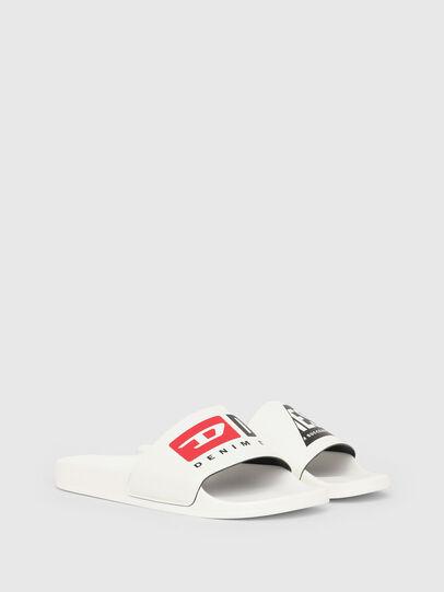 Diesel - SA-MAYEMI P, White - Slippers - Image 2